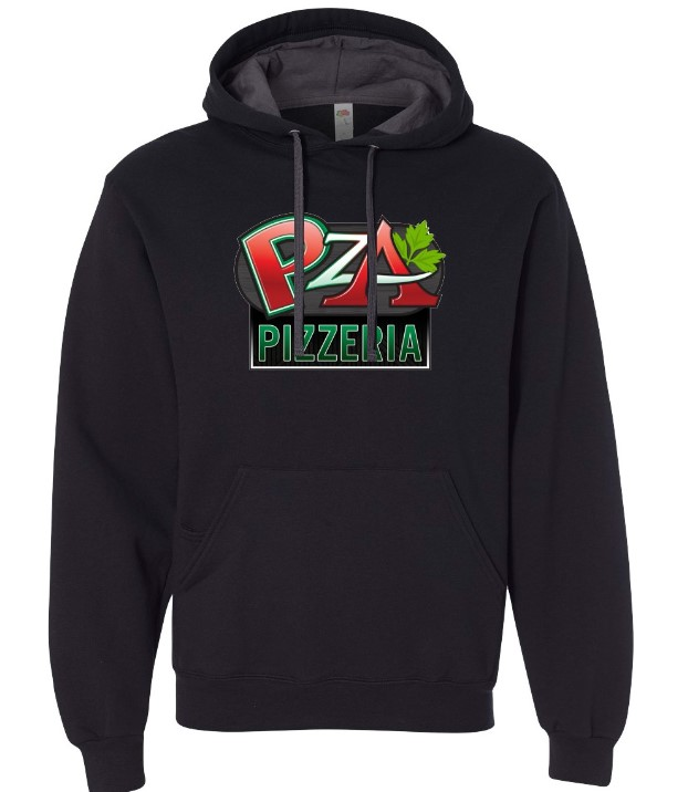 PZA Pizzeria 2 Toned Hooded Sweatshirt in Lake Havasu City