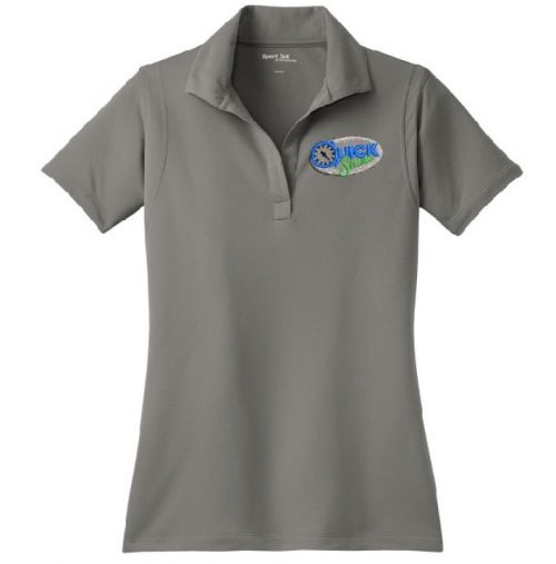 Quick Shine Ladies Sport Tek Polo Embroidered in Lake Havasu City