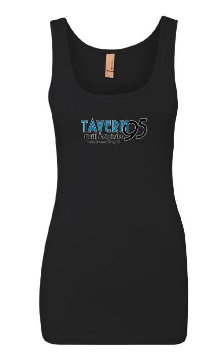 Tavern 95 Ladies Tank Black in Lake Havasu City