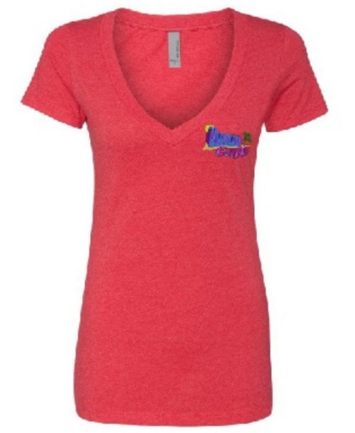 Makai Cafe Ladies V-Neck in Lake Havasu City