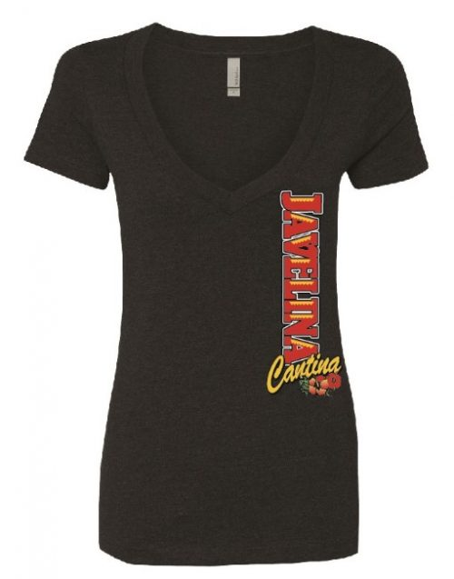 Javelina Cantina Next Level Ladies V-Neck in Lake Havasu City