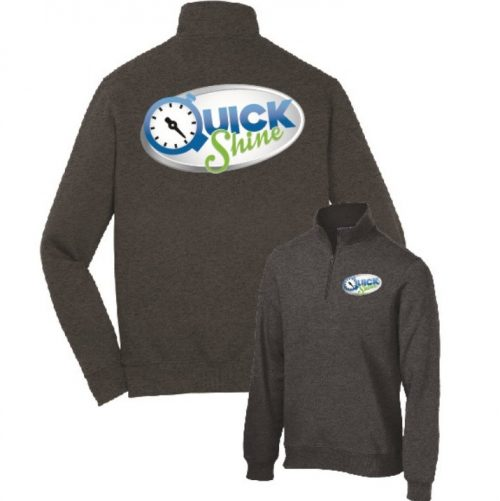 Quick Shine Port Authority Sweatshirt Screenprint in Lake Havasu City