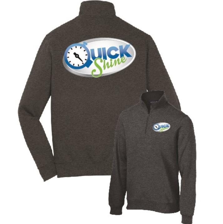 Quick Shine Port Authority Sweatshirt Screenprint in Lake Havasu City