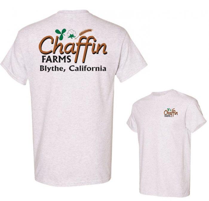 Chaffin Farms Unisex Performance Tee Ash in Lake Havasu City