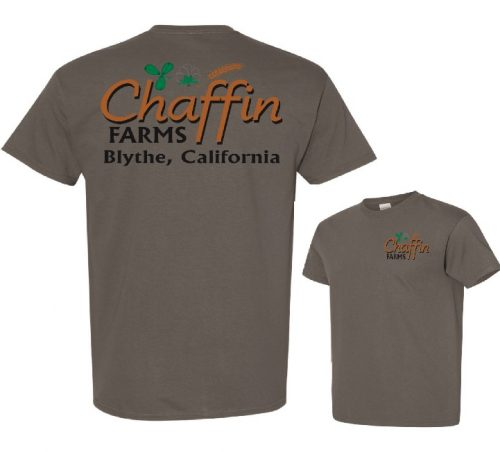 Chaffin Farms Unisex Performance Tee Charcoal in Lake Havasu City