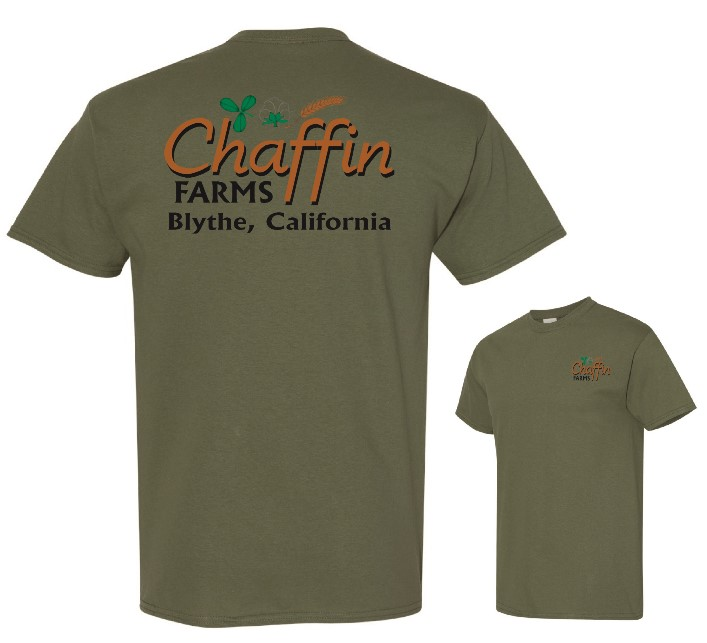 Chaffin Farms Unisex Performance Tee Military Green in Lake Havasu CIty