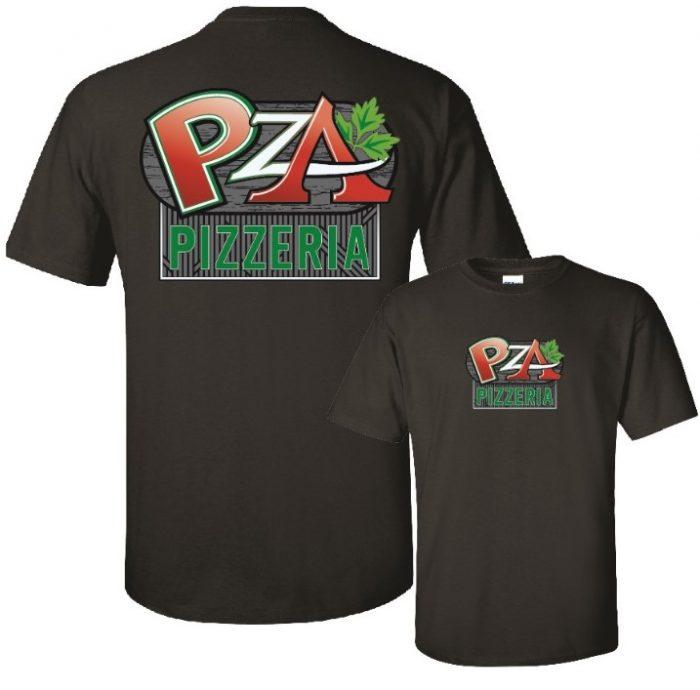 PZA Pizzeria Unisex Softstyle Tee in Lake Havasu City