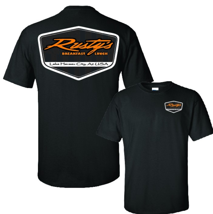 Rusty's Unisex Spectra Tee in Lake Havasu City