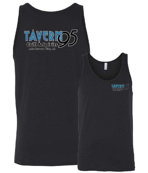 Tavern 95 Unisex Tank- Black in Lake Havasu City